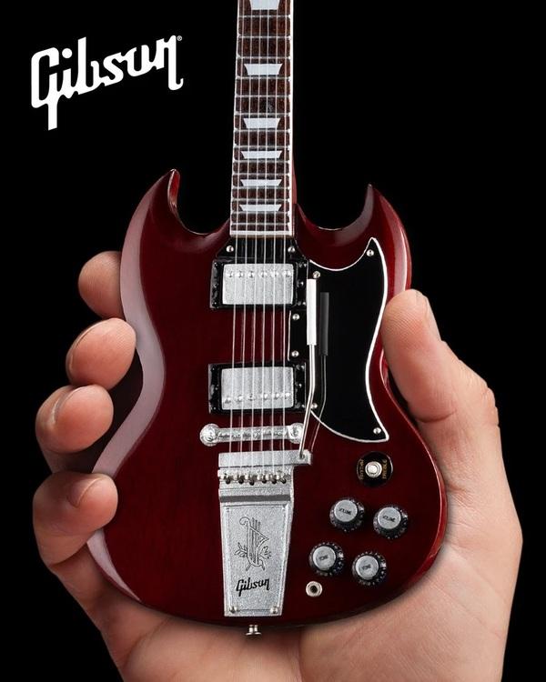 Gibson 1964 SG Standard Cherry Mini Guitar Model