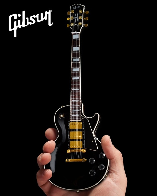 Gibson Les Paul Custom Ebony  Mini Guitar Model