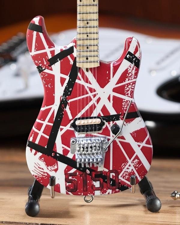 EVH 5150 Eddie Van Halen Mini Guitar Replica Collectible