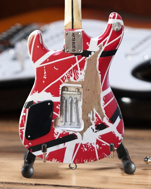 EVH 5150 Eddie Van Halen Mini Guitar Replica Collectible