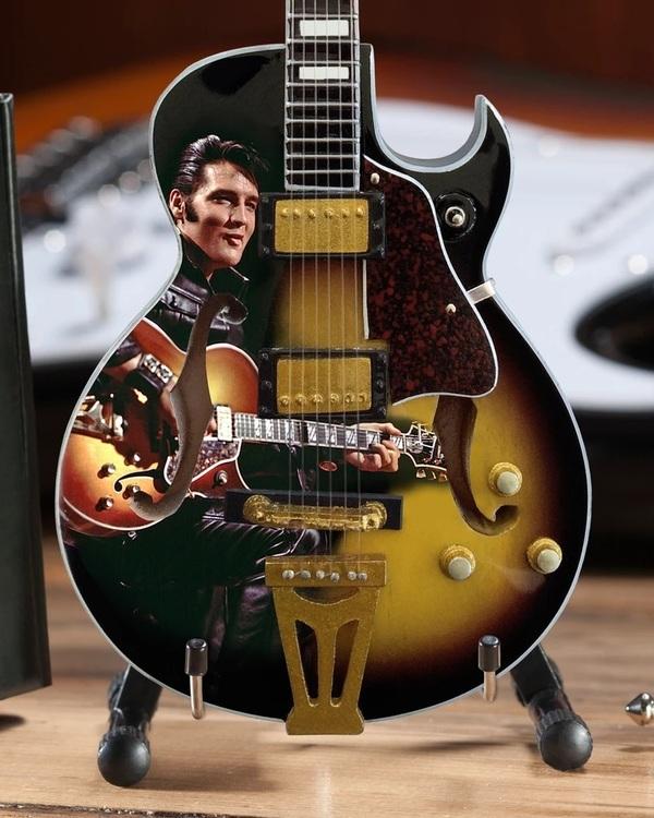 Elvis Presley 68' Special Hollow Body Mini Guitar