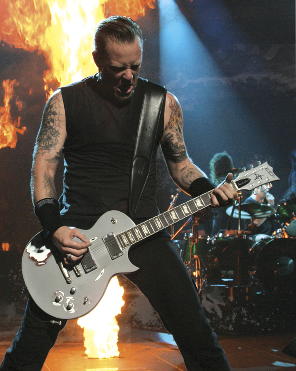 James Hetfield ESP Svart