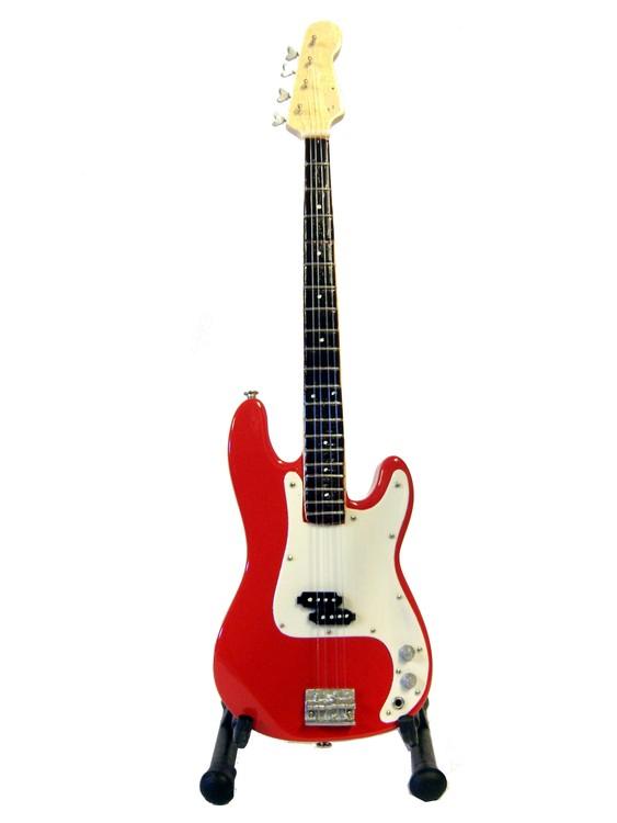 Fender Precision bass red replika