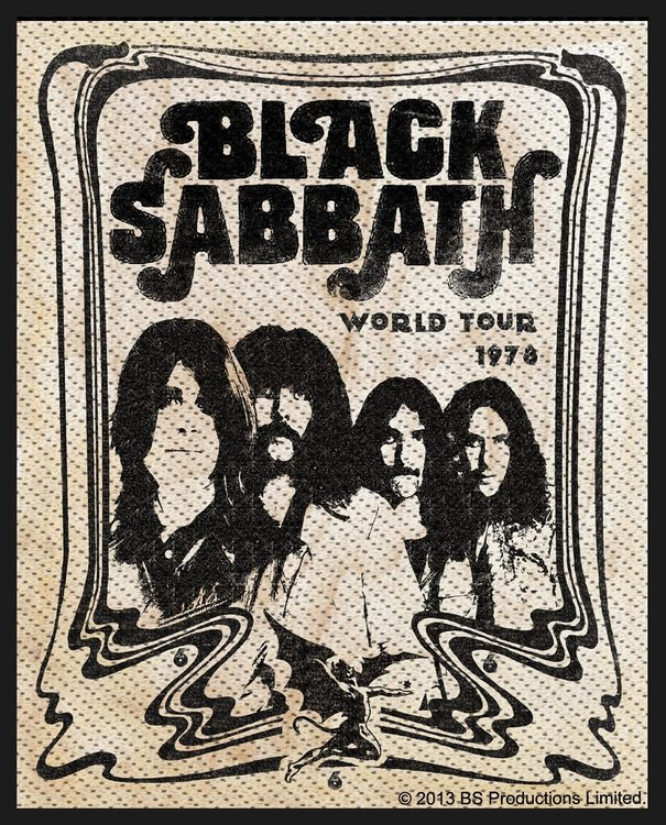 Black Sabbath 'Band' Patch