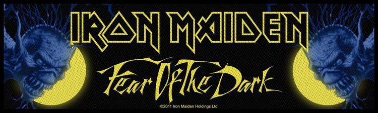 Iron Maiden 'Fear Of The Dark' Woven Superstrip
