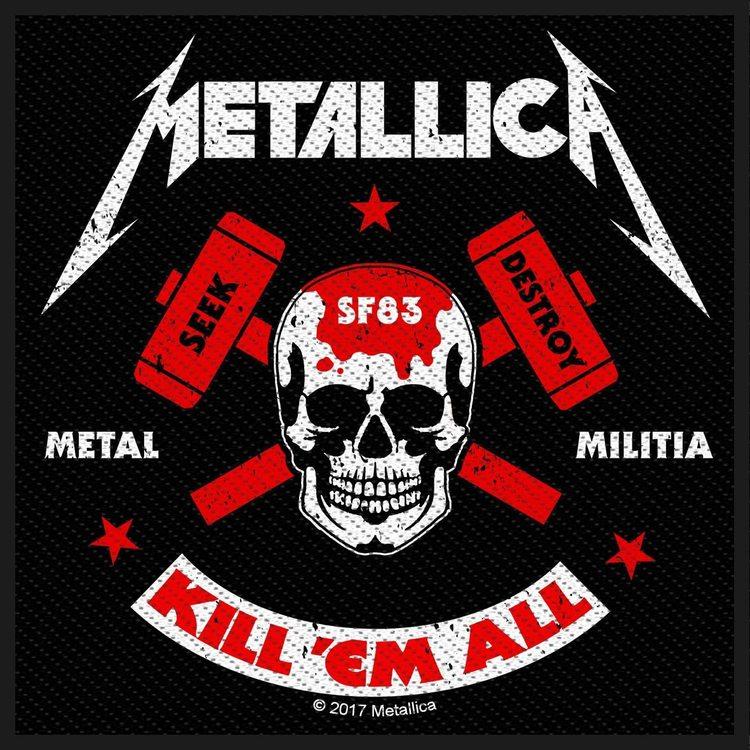 Metallica 'Metal Militia'