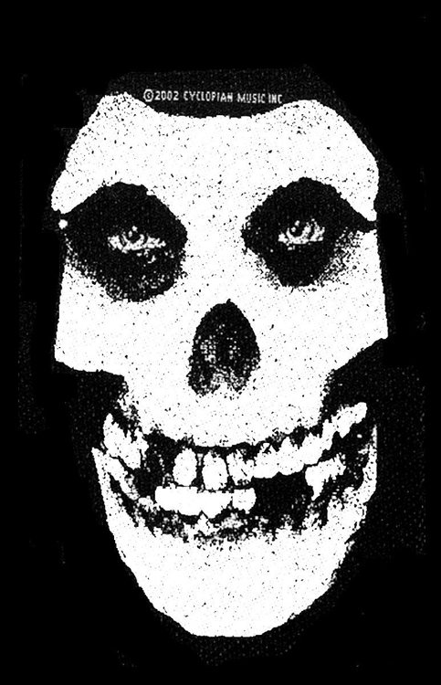 Misfits 'White Skull'