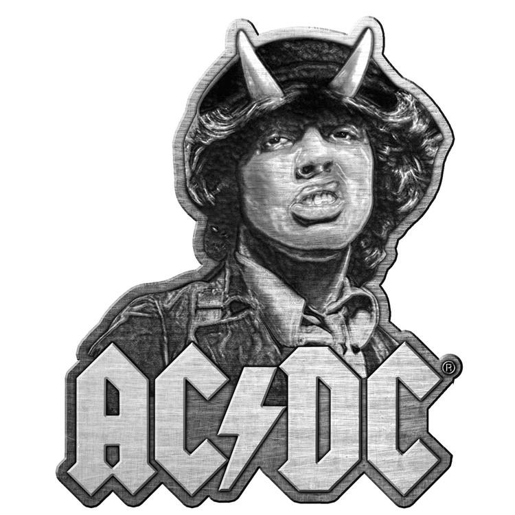 AC/DC 'Angus' Metal Pin
