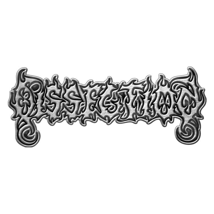 Dissection 'Logo' Metal Pin
