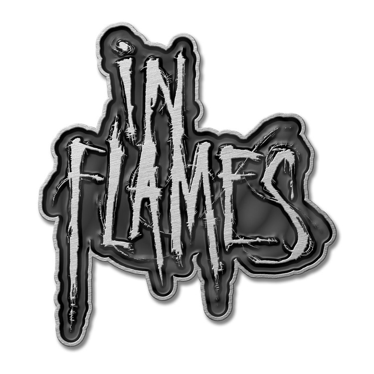 In Flames 'Logo' Metal Pin