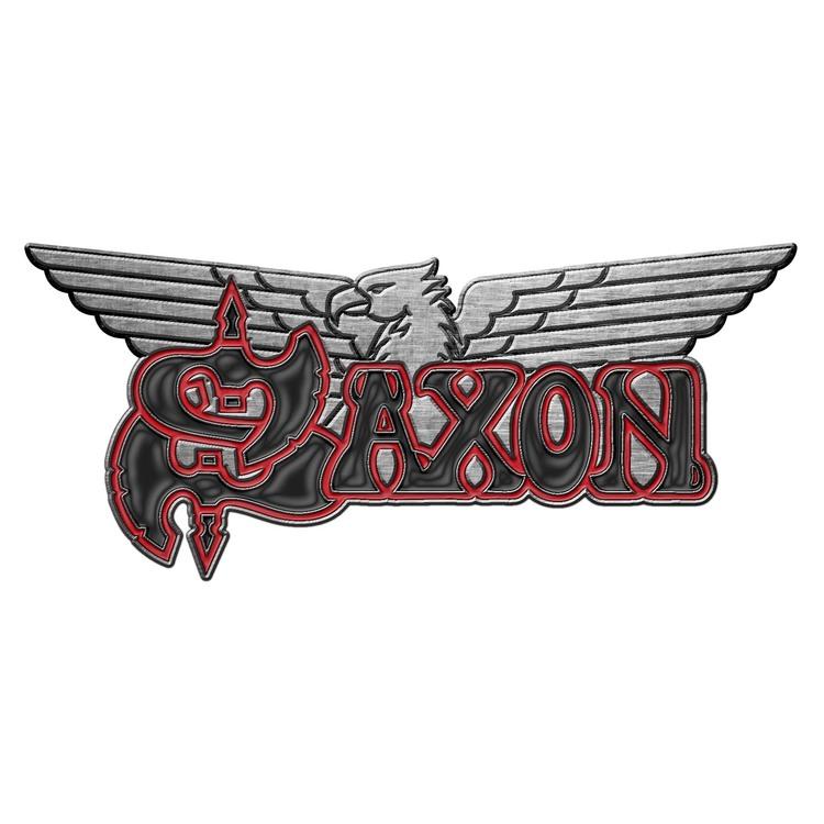 Saxon 'Logo / Eagle' Metal Pin