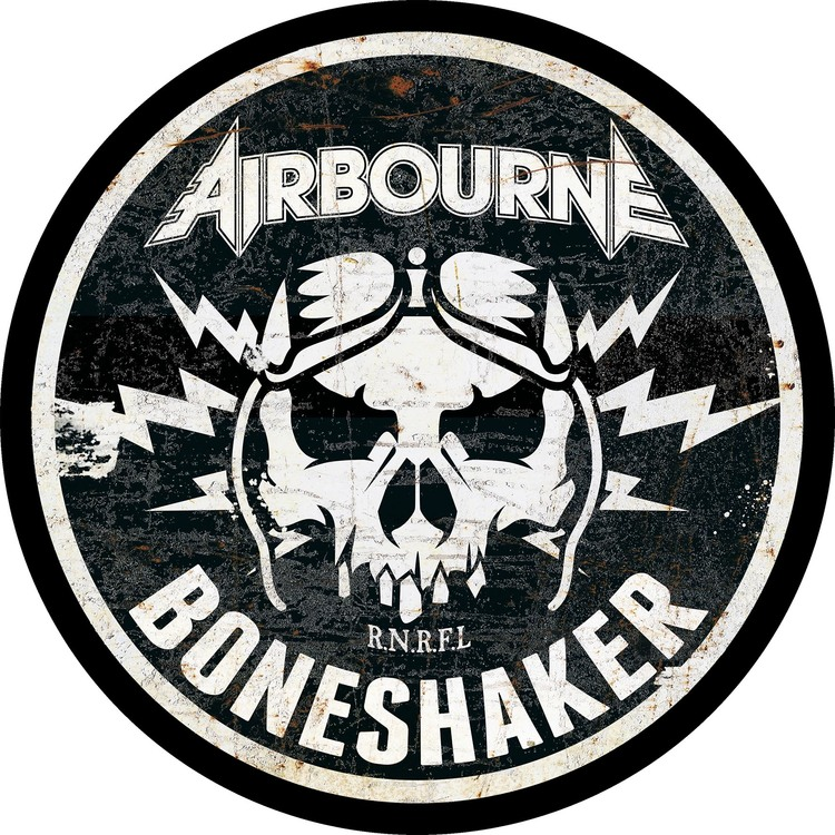 Airbourne 'Boneshaker' Backpatch