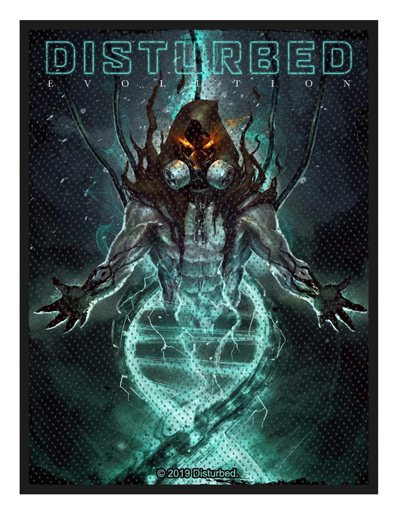 Disturbed 'Evolution Hooded' Patch