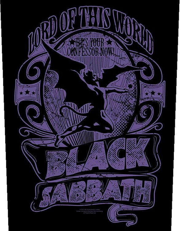 Black Sabbath 'Lord Of This World' Backpatch