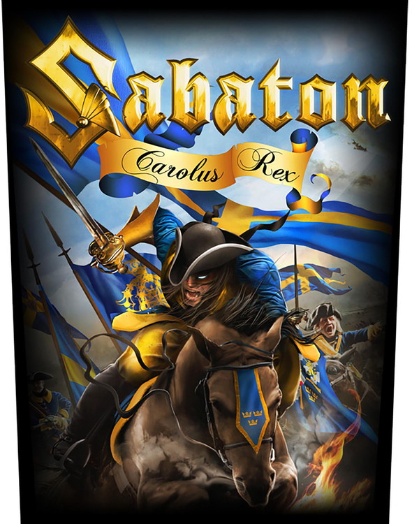 Sabaton 'Carolus Rex' Backpatch