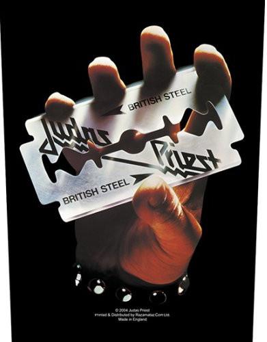 Judas Priest Back Patch: British Steel