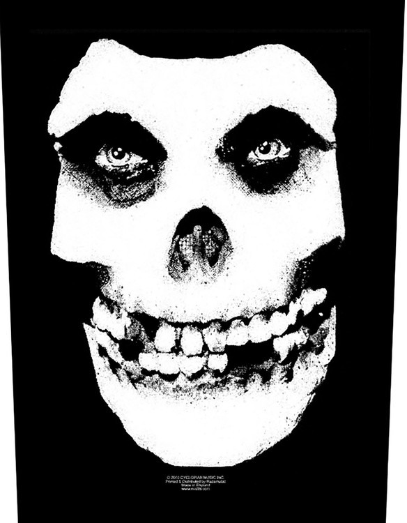 Misfits Back Patch Skull