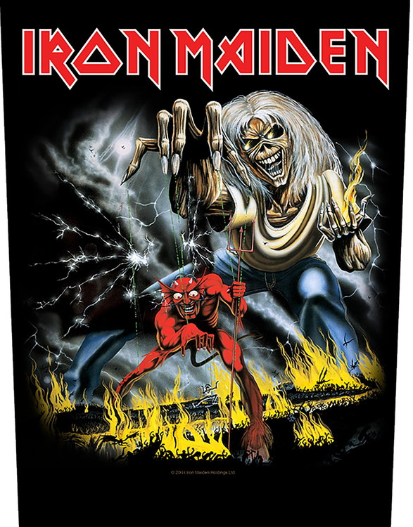 Iron Maiden 'Number of the Beast' Backpatch