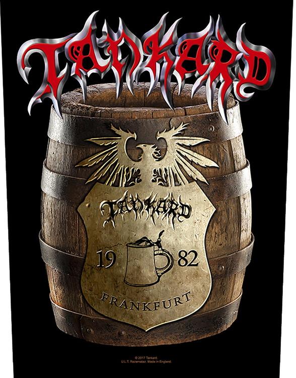 Tankard 'Beer Barrel' Backpatch