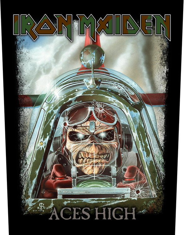 Iron Maiden 'Aces High' Backpatch