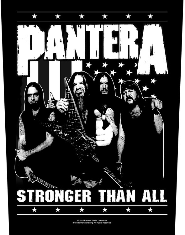 Pantera 'Stronger Than All' Backpatch