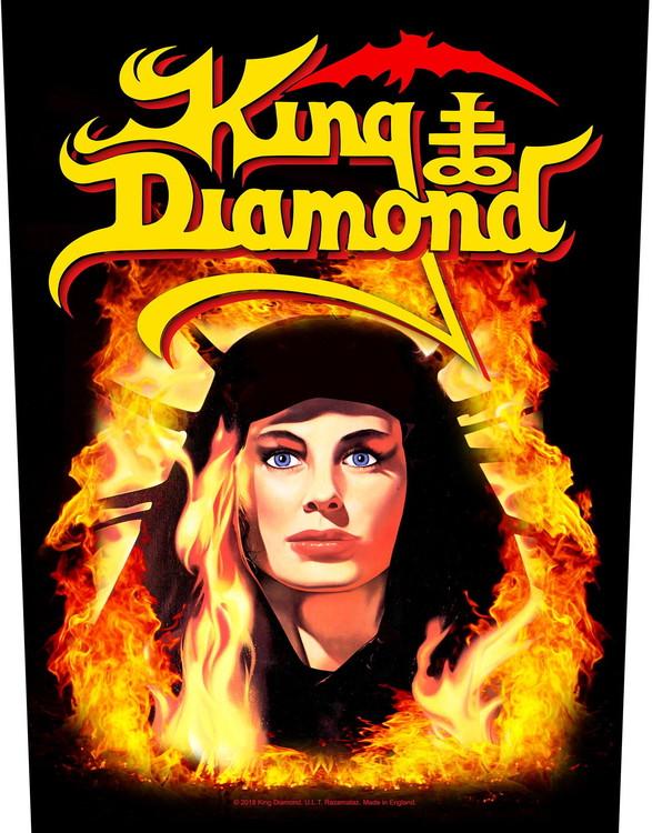 King Diamond 'Fatal Portrait' Backpatch