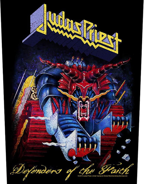 Judas Priest 'Defenders Of The Faith' Backpatch