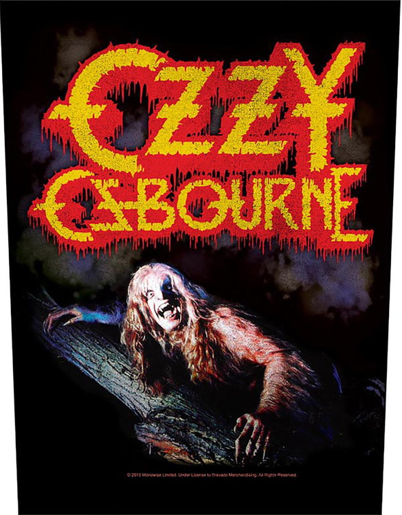 Ozzy Osbourne 'Bark At The Moon' Backpatch