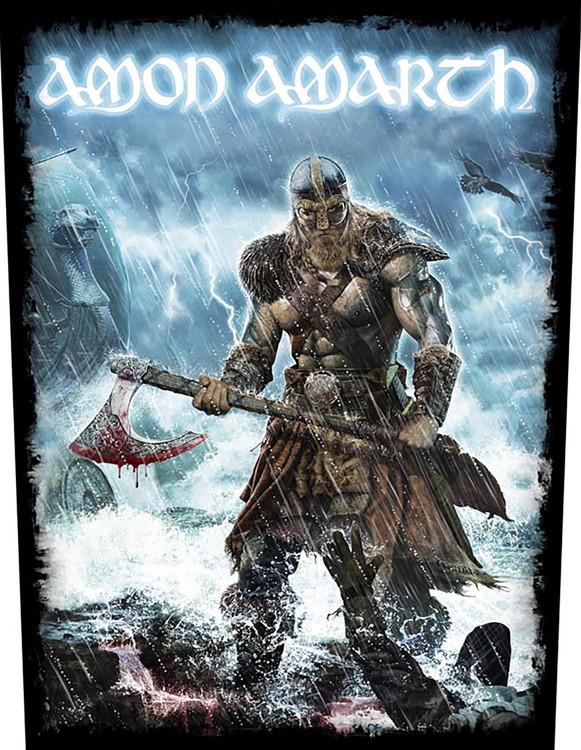 Amon Amarth 'Jomsviking' Backpatch