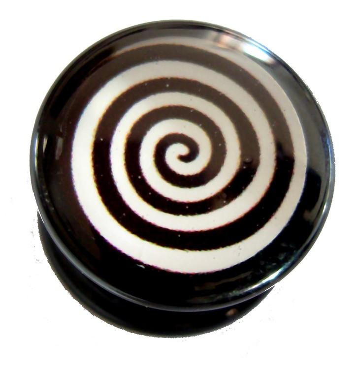 Akrylplugg Swirl 6-20mm