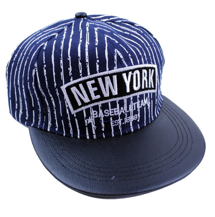 Keps New york Blå