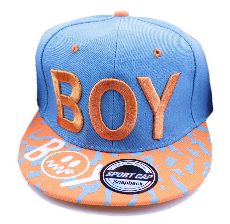 Keps BOY Orange/blå