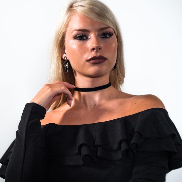 Kylie - Tyg choker