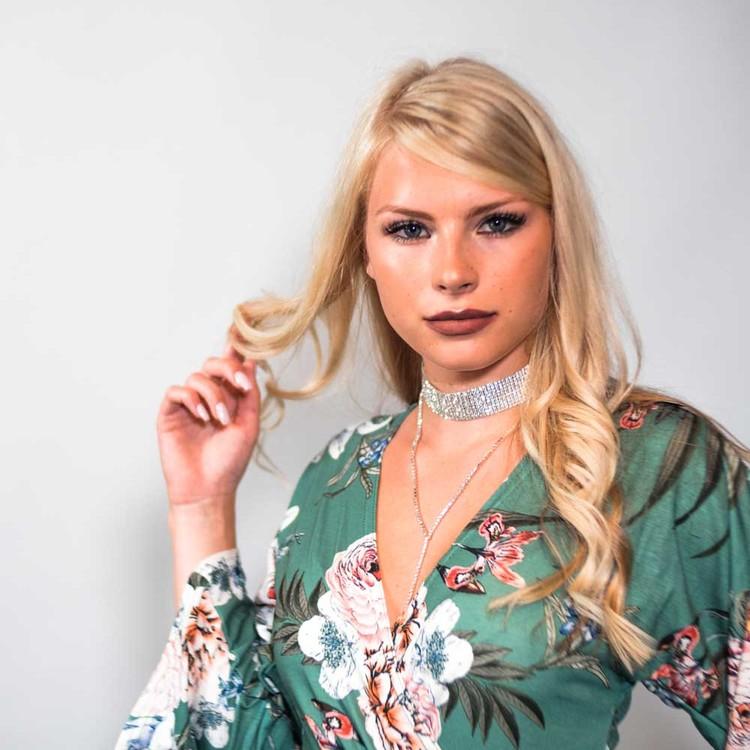 Sophia - Kristall Choker