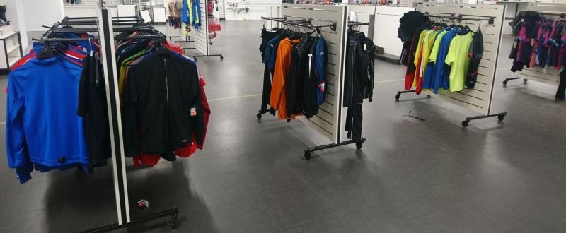 Utförsäljning av Team Sportia butik!