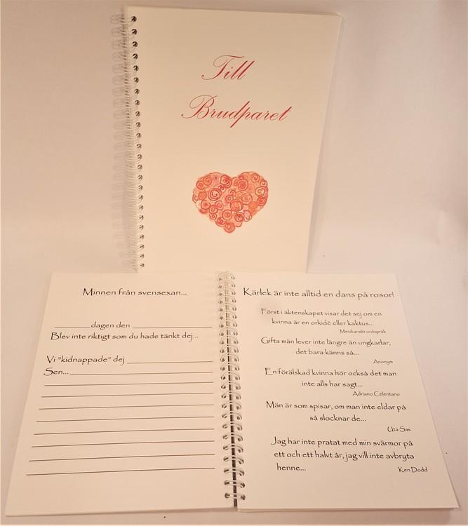 Till brudparet bok