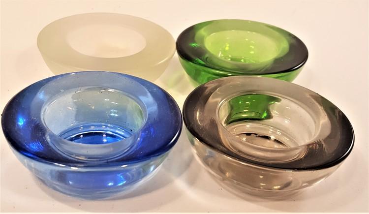 Värmeljushållare, Lindshammars glasbruk, x1