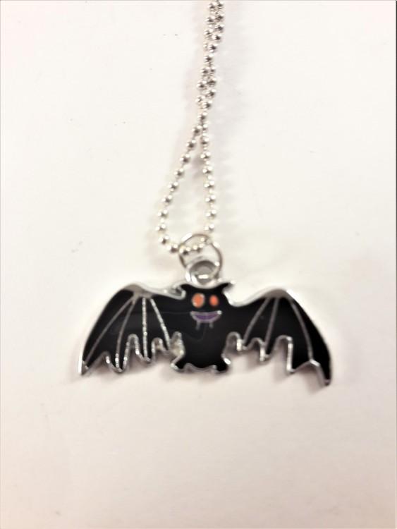 Halsband med fladdermus