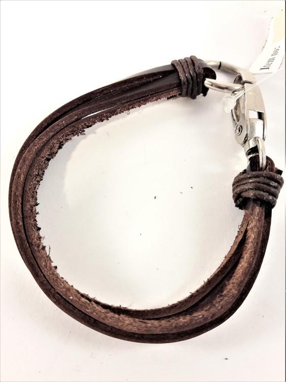 Läder Armband Brun