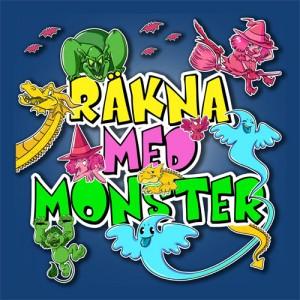 Barnspel - Räkna med Monster
