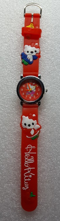 Barnklocka Hello Kitty