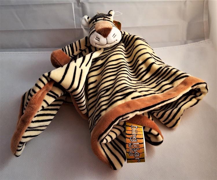Dinglis, Snuttefilt, Tiger med huvud