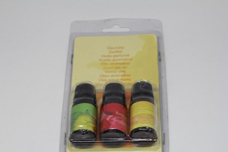 Eteriska doftoljor 3 packx10 ml,  2 varianter