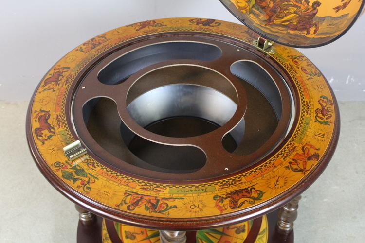 Zoffoli jordglobsbar, roterbar glob, diameter 66 cm