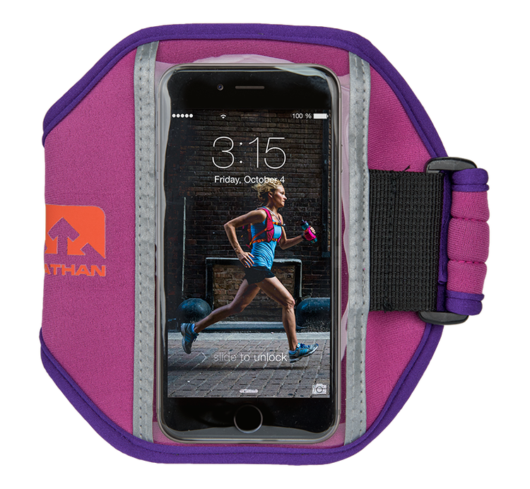Nathan Super 5K Smartphone armband, lila