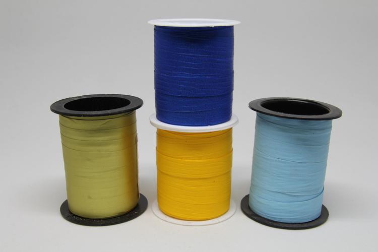Dekorationsband i olika färger, 10 mm x 10 meter
