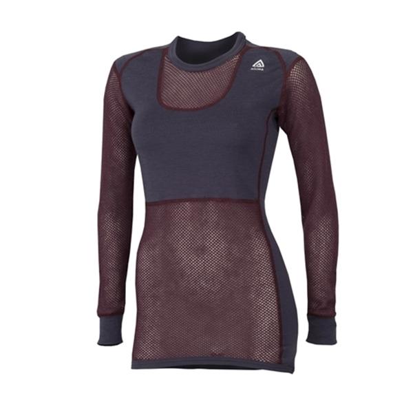Aclima underställ Woolnet Shirt Crew Neck, stl Small, Dam