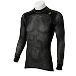 Aclima Underställ Woolnet Shirt Crew Neck, stl M, Svart, Herr