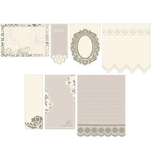 Scrapbooking Making Memories - Tie the Knot Collection - Spiral - Journaling Book