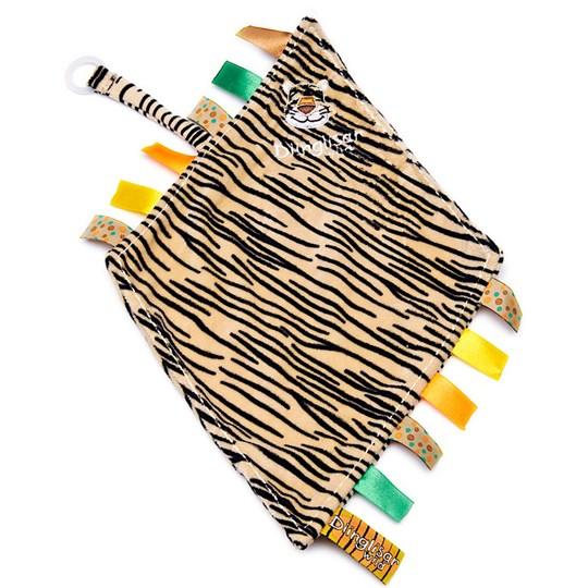Dinglis, Snuttefilt med napphållare, Tiger